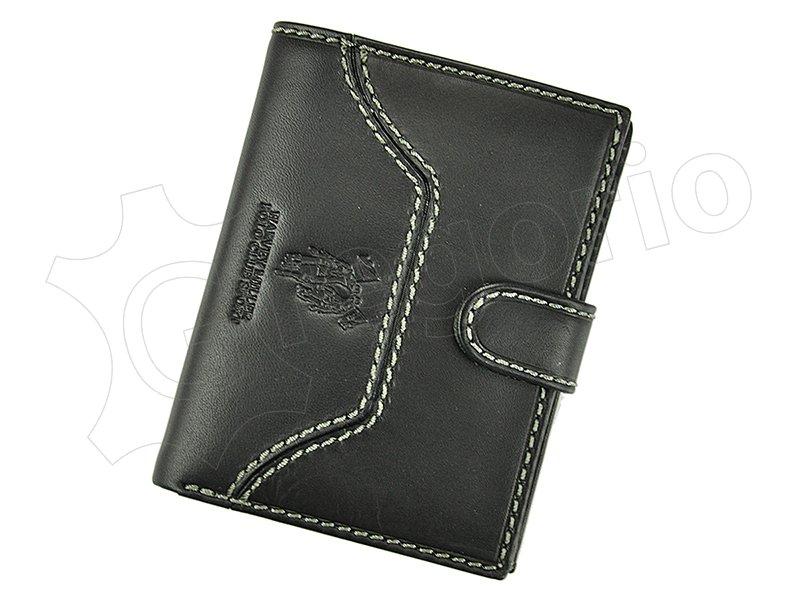 Pánska kožená peňaženka Harvey Miller čierna 43 PL04 42561b7b60a