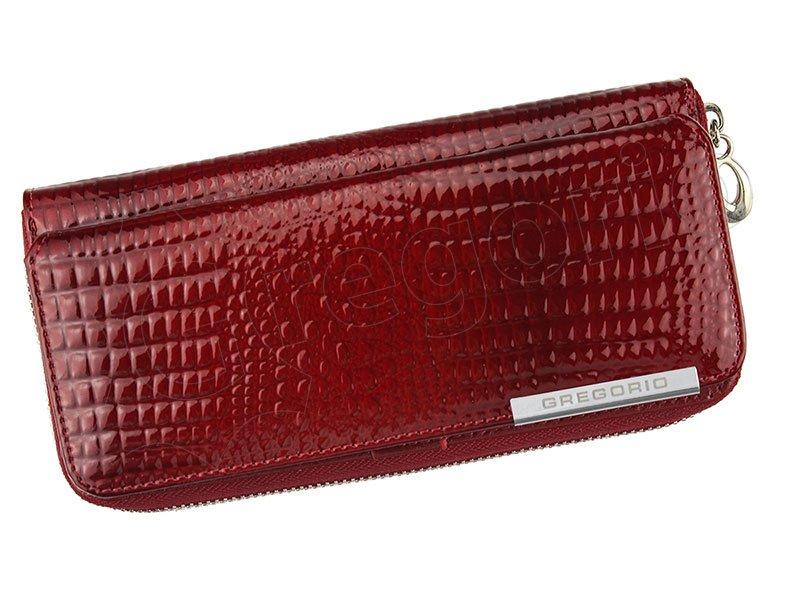 234f924b2 Dámska kožená peňaženka červená Gregorio GF 111 empty