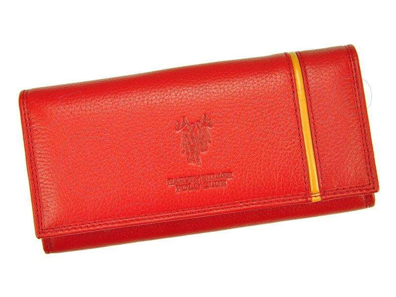 82c3f5aad Dámska kožená peňaženka červená HARVEY MILLER 5313 PL11 empty