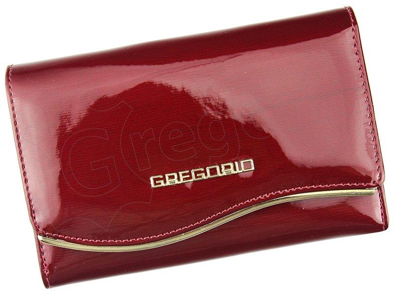 0aee96061 KOŽENÉ PEŇAŽENKY | Dámska kožená peňaženka červená Gregorio ZLF 101 ...
