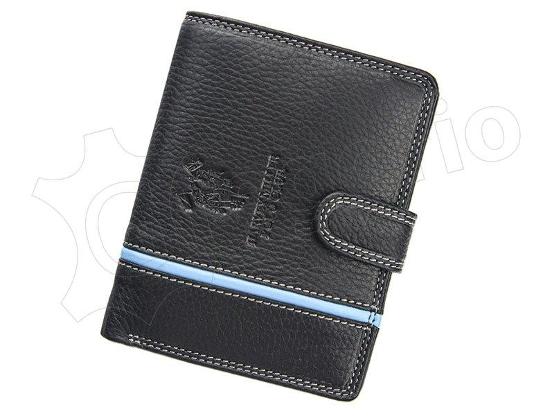 Pánska kožená peňaženka Harvey Miller čierna 5313 PL01 empty 0bd79b316aa