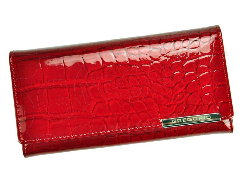 Dámska kožená peňaženka červená Gregorio BC 100 empty 0973ad1f24c
