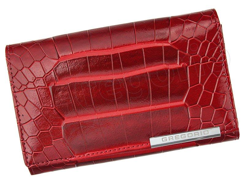 Dámska kožená peňaženka červená Gregorio GF 104 empty 13e03169847